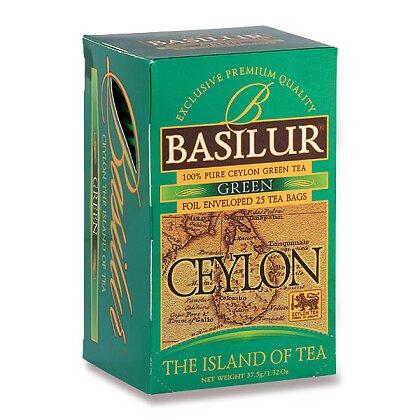 Obrázek produktu Basilur - zelený čaj - Ceylon, 25 ks