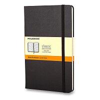 Moleskine - zápisník v tvrdých deskách - 6,5 x 10,5 cm, linkovaný