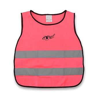 Obrázek produktu Výstražná vesta pro děti - růžová