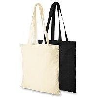 Carolina - bavlněná nákupní taška s dlouhým uchem, výběr barev
