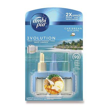Obrázek produktu Ambi Pur 3 Volution - náplň do el. osvěžovače vzduchu - Carabbean Premium, 20 ml