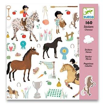 Obrázek produktu Samolepky Djeco - Koně