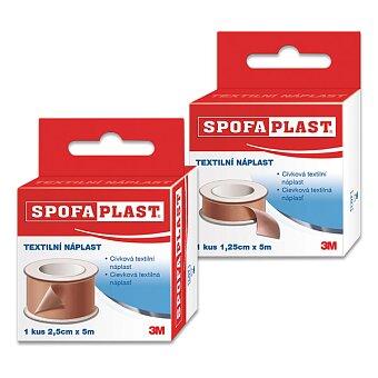Obrázek produktu Textilní cívková náplast Spofaplast - výběr šířek