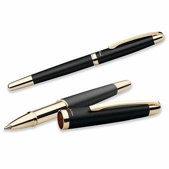 Obrázek produktu SANTINI EZEKIEL ROLLER - kovové keramické pero, modrá náplň, černá