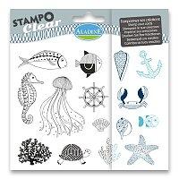 Razítka gelová Stampo Clear - Moře