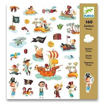 Obrázek produktu Samolepky Djeco - Piráti