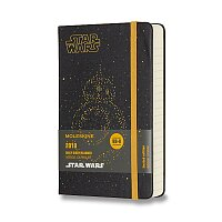 Diář Moleskine 2018 Star Wars BB-8, tvrdé desky