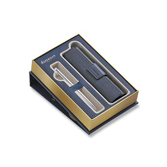 Obrázek produktu Waterman Hémisphère Stainless Steel CT - kuličková tužka, dárková sada s pouzdrem