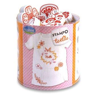 Obrázek produktu Razítka Stampo Textile - Věneček květin