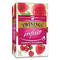 Ovocný čaj Twinings Malina, brusinka