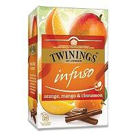 Ovocný čaj Twinings Pomeranč, skořice, mango