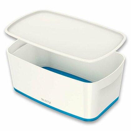 Obrázok produktu Leitz MyBox - úložný box s vekom - veľ. S, biela/modrá