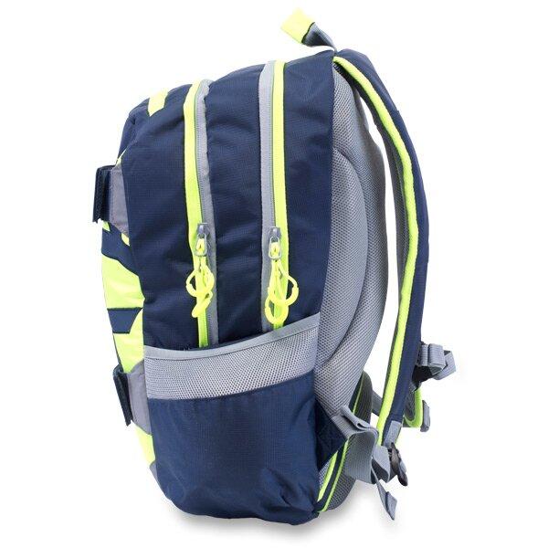 Studentský batoh OXY Sport Neon Line - Dark Blue 9f3b67bd17