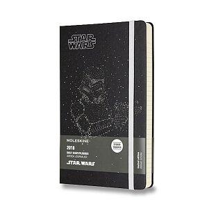 Diář Moleskine 2018 Star Wars Stormtrooper, tvrdé desky