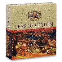 Kolekce černých a zelených čajů Basilur Leaf Ceylon
