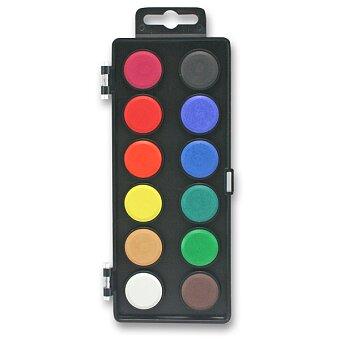 Obrázek produktu Vodové barvy Koh-i-noor 172511 - 12 barev, průměr 30 mm