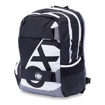 Obrázek produktu Studentský batoh OXY Sport Neon Line - Black & White