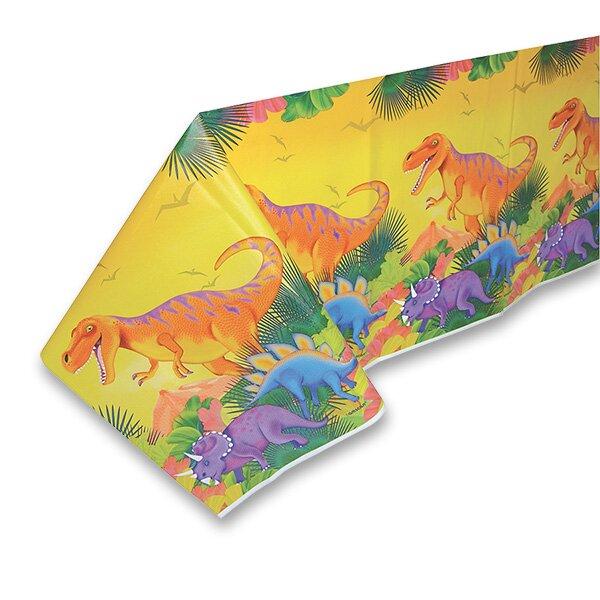 Plastový ubrus Dinosauři 120 x 180 cm