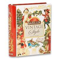 Sypaný černý čaj Basilur Vintage kniha