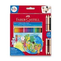 Pastelky Faber-Castell Colour Grip Children of the world