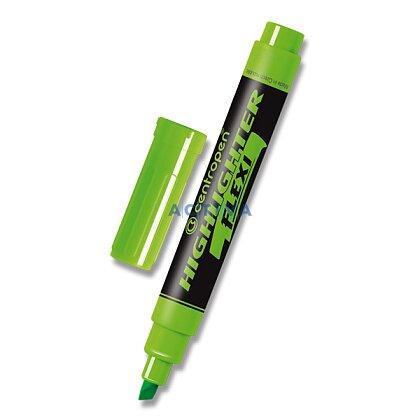 Obrázek produktu Centropen Flexi 8542 - zvýrazňovač - zelený