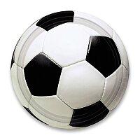Papírové talířky Fotbal