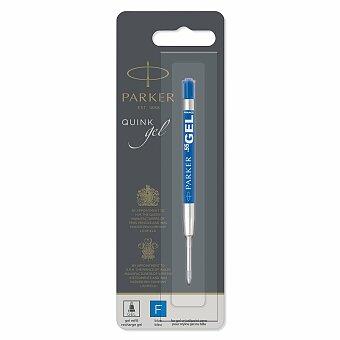 Obrázek produktu Gelová náplň Parker do kuličkové tužky - modrá - výběr šíře stopy