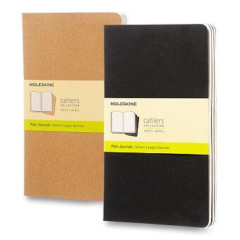 Obrázek produktu Notes Moleskine Cahier - L, čistý, 3 ks, výběr barev