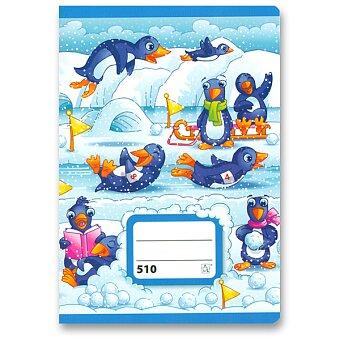 Obrázek produktu Školní sešit 510 - A5, čistý, 10 listů