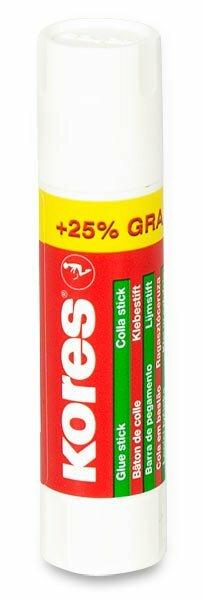 Lepicí tyčinka Kores 8 g + 25 % zdarma