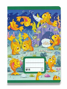 Obrázek produktu Školní sešit 511 - A5, linkovaný 20 mm, 10 listů