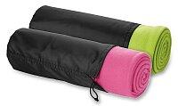 Fit - cestovní deka s obalem, výběr barev