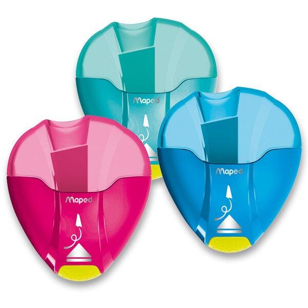 Ořezávátko Maped I-Gloo Eject - s odpadní nádobkou 1 otvor, mix barev