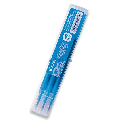 Obrázek produktu Pilot Frixion 05 - náplň - světle modrá, 3 ks
