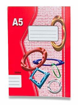 Obrázek produktu Školní sešit EKO 544 - A5, linkovaný, 40 listů