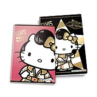 Školní sešit Pigna Elvis Hello Kitty
