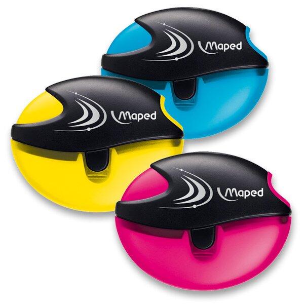 Ořezávátko Maped Galactic - s odpadní nádobkou 1 otvor, mix barev