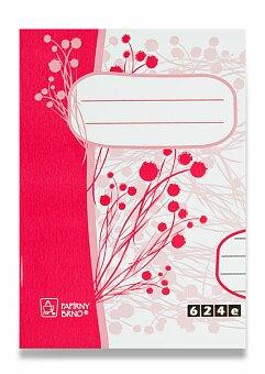Obrázek produktu Školní sešit EKO 624 - A6, linkovaný, 20 listů