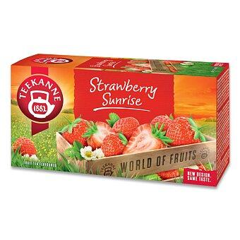Obrázek produktu Ovocný čaj Teekanne  Strawberry Sunrise - 20 sáčků