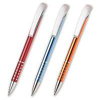 Aula - kovová kuličková tužka, výběr barev