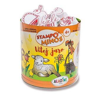 Obrázek produktu Razítka Aladine Stampo Minos - Jaro a Velikonoce - 43 razítek