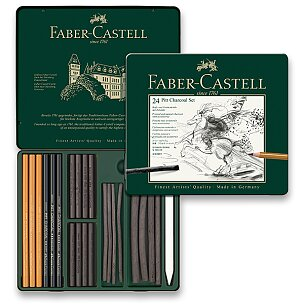 Uhly Faber-Castell Pitt Monochrome Charcoal