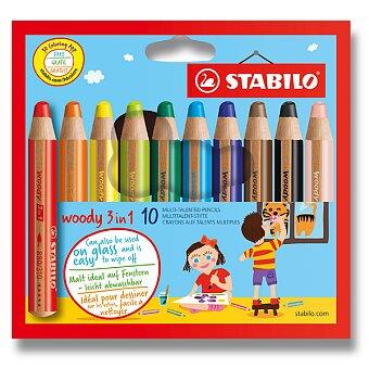 Obrázek produktu Pastelka Stabilo Woody 3 in 1 - 10 barev