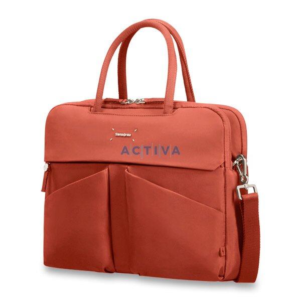 ce747a8b03415 Samsonite Lady Tech ORGANIZ. BAILHANDLE - dámská taška na notebook a tablet  - 14,1