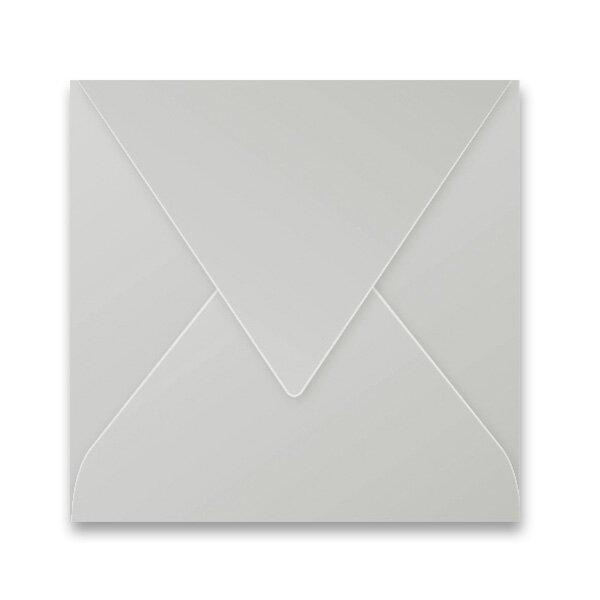 Barevná obálka Clairefontaine stříbrná, 165 × 165 mm