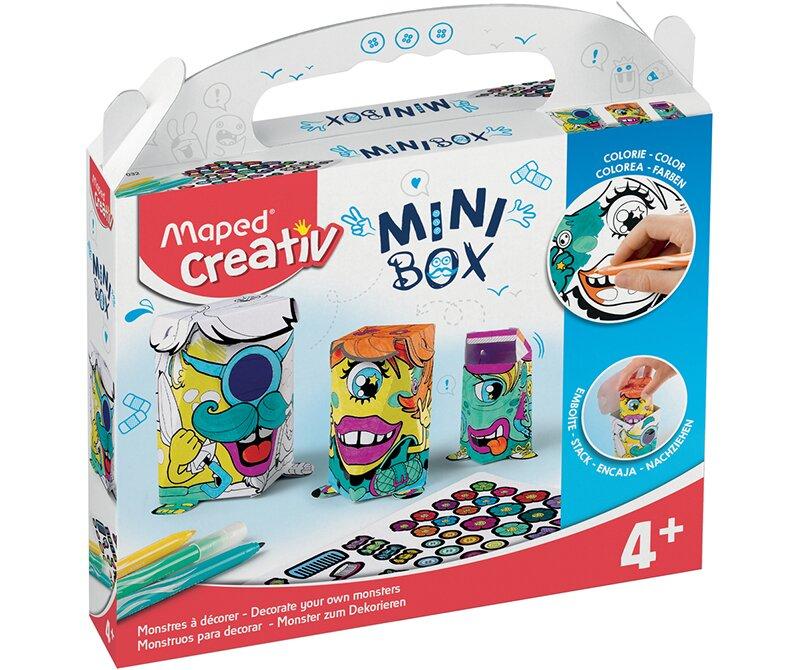 Kreativní sada Mini Box příšerky zabaví děti