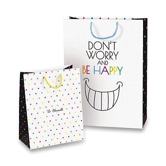 Obrázek produktu Dárková taška Be Happy - různé rozměry