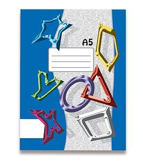 Obrázek produktu Sešit recyklovaný 540 Papírny Brno - A5, 40 listů, čistý