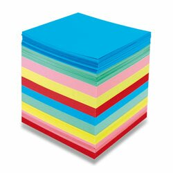 Obrázek produktu Poznámkový bloček barevný - nelepený - 90 × 90 × 90 mm, 800 listů
