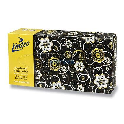 Obrázok produktu Linteo Satin - papierové vreckovky - 2 -vrstvové, 100 ks